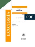 Libro Marco Analítico de la Discriminación Laboral