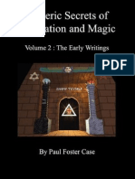 Esoteric Secrets of Meditation Magic Volume 2 Case Paul Foster