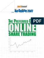 JuxtConsult India Online 2007 Online Share Trading Report