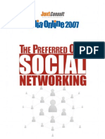 JuxtConsult India Online 2007 Online Social Networking Report