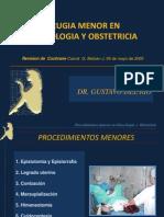 Cirugia Menor en Ginecologia y Obstetricia-ypinedall