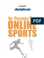 JuxtConsult India Online 2007 Online Sports Content Report