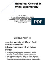 Impact of bio-intensive pest management  on biodiversity