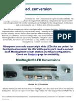 Flashlight LED Conversion 2004