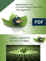 A Presentation on GREEN HRM (1)