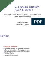 Lecture1 (D. Geman)