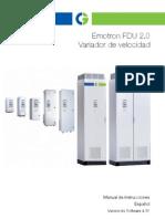 Emotron FDU2-0 Manual 01-5325-04r1 ES