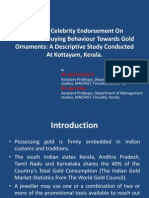 Effect Of Celebrity Endorsement On Customers' Buying