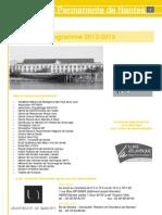 2012-2013plaquette