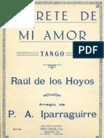 De Los Hoyos-Iparraguirre Purrete de Mi Amor
