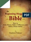 Blogging Bible