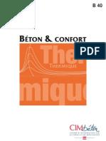 Beton Et Confort Thermique