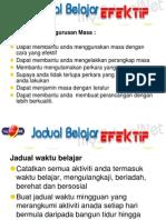 JADUAL BELAJAR