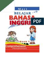 Belajar Bahasa Inggris, Comprehension, ALPHABET, Book 1 dan KEY-Kunci Jawaban