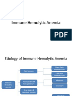 Immune Hemolytic Anemia Plenary