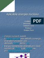 Aplicatiile energiei nucleare