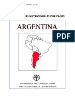 Consumo Alimentos Argentina