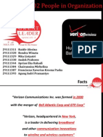Verizon Implementing HR balance scorecard
