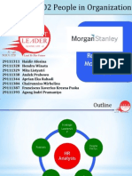 Rob Parson at Morgan Stanley