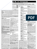 Results 2009 Corporation Bank Clerk Post 2009