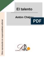 Chejov, Anton - El Talento