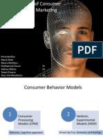 Various Models of Consumer Behaviour