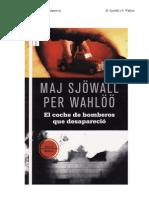 Sjowall Maj Martin Beck 05 El Coche de Bomberos Qu
