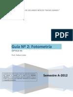 Guia 2 Radiometria Fotometria