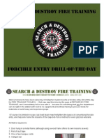 Conventional Forcible Entry Training Drill from SEARCH & DESTROY FIRE TRAINING