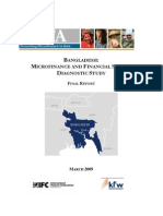 Bangladesh_ Microfinance and Financial Sector Diagnostic Study