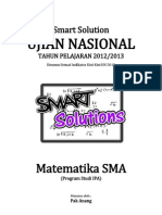 Smart Solution Un Matematika Sma 2013 (Skl 5.4 Aplikasi Integral (Luas Daerweqah Dan Volume Benda Putar))