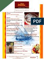 Dolci Fritti e Bevande Con Calorie