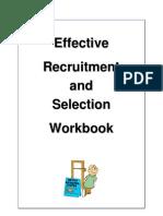 Effective Recruitment & Selection 2008 - Part Workbook