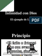 Orando La Palabra de Dios Intimidad Con Dios