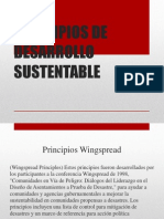 Principios de Desarrollo Sustentable Unidad 1
