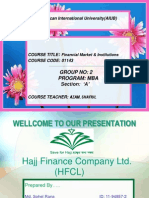Hajj Finance Company Ltd