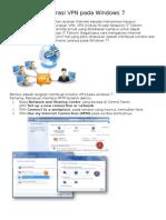 4-Panduan Konfigurasi VPN Pada Windows 7