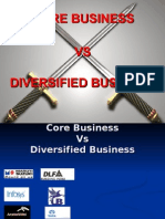Core vs Diversified Business