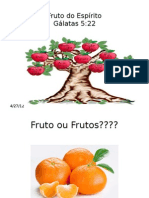 Fruto Do Espirito Slides
