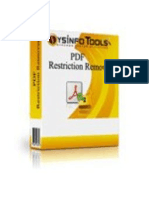 PDF Restriction Remover Software
