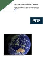 Teoria GAIA -. Cercetătorii la un pas de a demonstra că Pământul este VIU