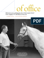 Out of Office, Doctor's Review, February 2013, Hans Berkhout