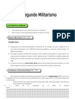 IV BIM - 5to. Año - Guía 1 - El Segundo MIlitarismo