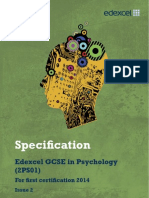 GCSE Psychology Spec-2012