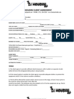 Dj contract sample indemnity law of obligations dj contract pronofoot35fo Image collections