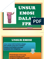unsur emosi dlm FPK