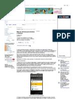 Mais de 30 Dicas Para Dominar o Android - Dicas - PC WORLD