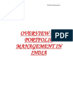 Portfolio Management in India