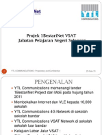 YTLC VSAT Project - JPN Selangor February 2013