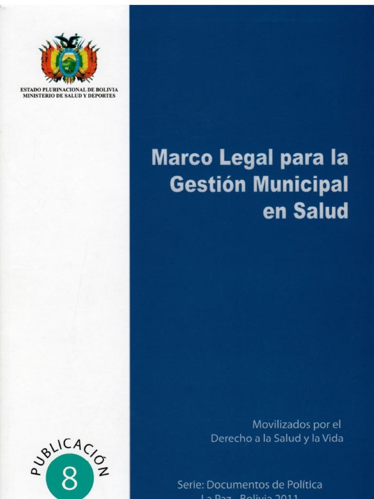 Marco Legal para la Gestión Municipal en Salud
